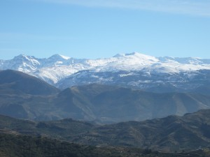 Sierra Nevada mountains in Spain