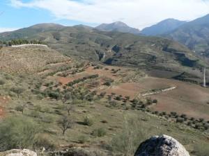 View of Monachil valley