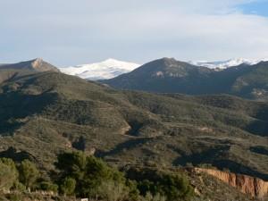Sierra Nevada from Camino de los Neveros