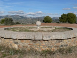 Sundial at Llano de la Perdiz, Granada
