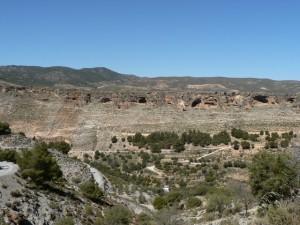 Saleres Gorge, near Albuñuelas