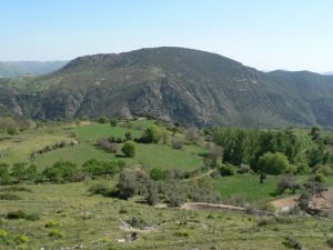 Countryside along the GR-7 in the Alpujarras