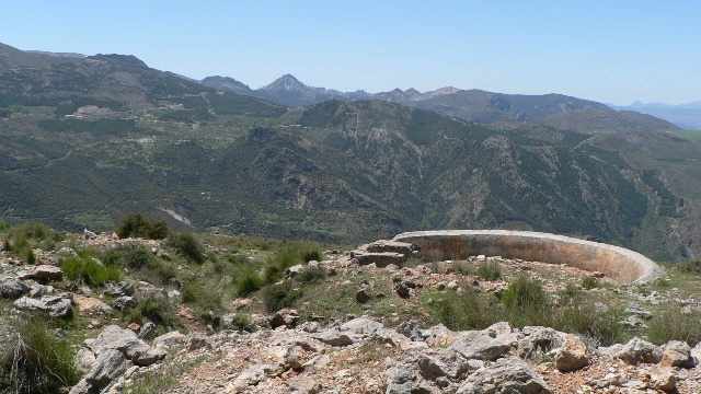 Civil War Trenches near Cerro el Calar, Guejar Sierra