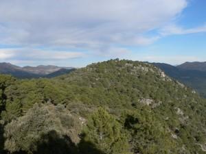 View from Cueva del Agua